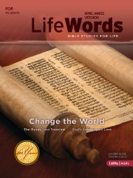 Bible Studies for Life - Life Words Leader Guide - Winter ... - LifeWay