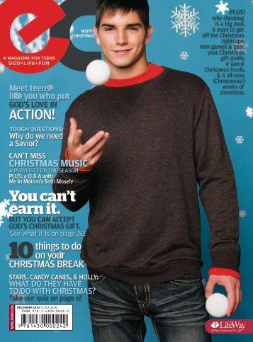 ec: Essential Connection - December 2010 - LifeWay