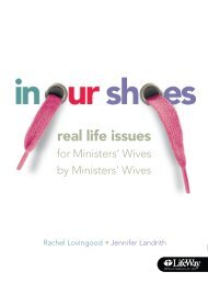 In Our Shoes, Real Life Issues for Minister's Wives by ... - LifeWay