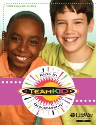 TeamKID 2006–2007 CaTalog - LifeWay