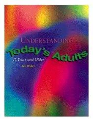 Understanding Today's Adults - LifeWay