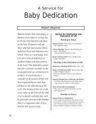 A Service for Baby Dedication - Amazon S3
