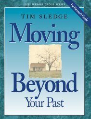 TIM SLEDGE - LifeWay