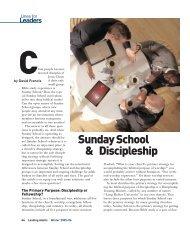 Sunday School & Discipleship - LifeWay