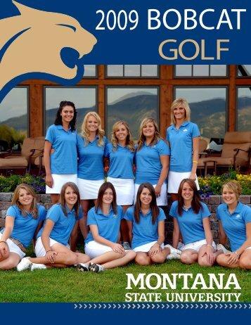 2009 bobcat golf - Montana State University