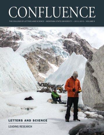 Confluence 2012-2013 - Montana State University