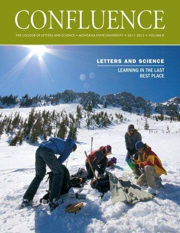 Confluence 2011-2012 - Montana State University