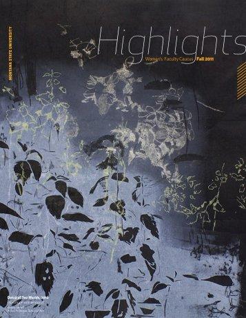Highlights - Montana State University