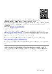 may use content in the JSTOR archive only - Montana State University