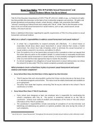 Know Your Rights - U.S. Department of Education