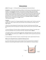 (from pages 1 – 4 of Advanced Placement Biology Student ...