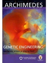 Genetic engineering issue - saasta