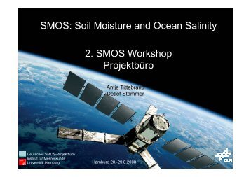 des Workshops (PDF) - SMOS