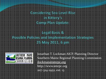 Lockman - Southern Maine Regional Planning Commission
