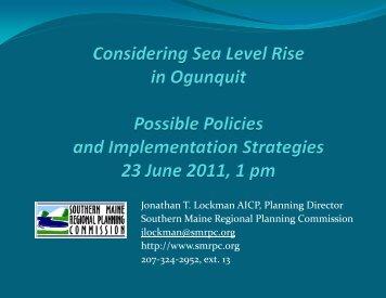 Lockman - Southern Maine Regional Planning Commission