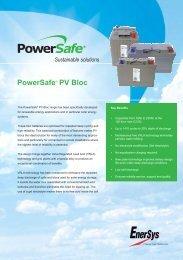 Powersafe® PV Bloc - Enersys - EMEA
