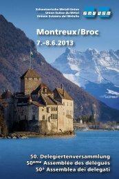 Montreux/Broc - Schweizerische Metall-Union