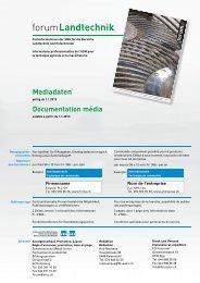 Mediadaten forum 2013 - Schweizerische Metall-Union