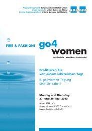 FIRE & FASHION! - Schweizerische Metall-Union