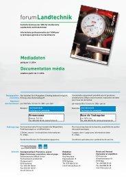 Mediadaten forum 2014 - Schweizerische Metall-Union