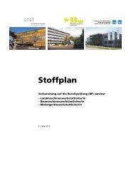 Stoffplan - SMU
