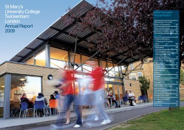 Annual Report 2009 - St Mary's University College