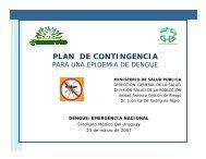 Plan de Contingencia. Dr. J. Rodríguez Nigro. - Sindicato Médico ...