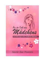Aus Sicht eines Mädchens - Annie Zac Poonen