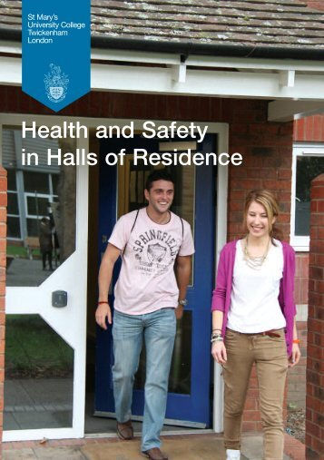 Health and Safety in Halls of Residence - St Mary's University College
