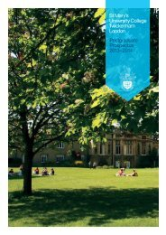 Prospectus (PDF File) - St Mary's University College