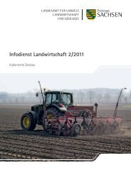 Infodienst Landwirtschaft 2/2011 - Sächsisches Staatsministerium ...