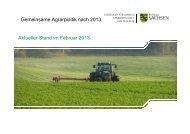 Gemeinsame Agrarpolitik nach 2013 - Sächsisches ...