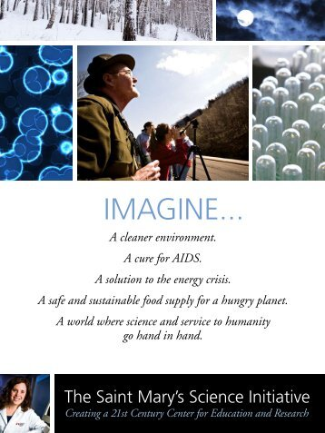 IMAGINE... - Saint Mary's University of Minnesota