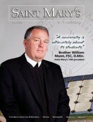 Brother William Mann, FSC, D.Min. - Saint Mary's University of ...