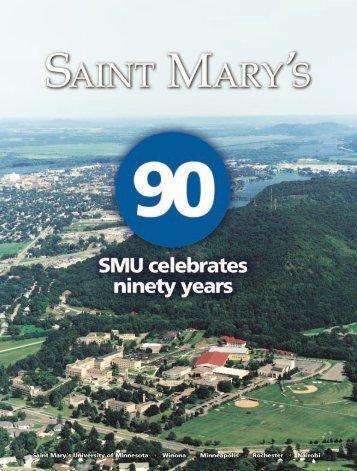 Saint Mary's Magazine Winter 2003 - Saint Mary's University of ...