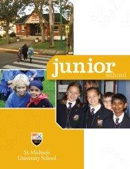 Junior School Viewbook - St. Michaels University School