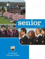 Senior - St. Michaels University School