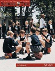 Evolution Fall 2004 - St. Michaels University School