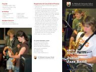 Junior Jazz Band - St. Michaels University School