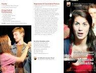 Summer Musical Theatre Academy Brochure - St. Michaels ...