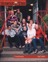 2001, Fall Issue - St. Michaels University School