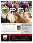 School Ties: 2009, Fall Issue - St. Michaels University School - Page 2
