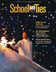 School Ties: 2010, Spring Issue - St. Michaels University School