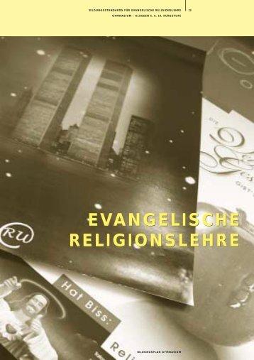 EVANGELISCHE RELIGIONSLEHRE EVANGELISCHE ...
