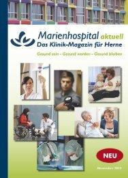 Marienhospital aktuell