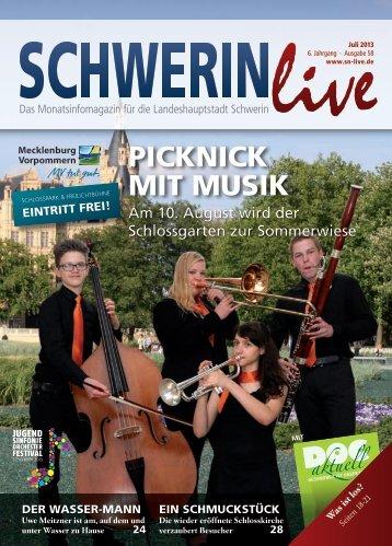 Webqualität - Schwerin Live