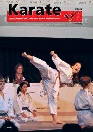 KARATE - Chronik des deutschen Karateverbandes