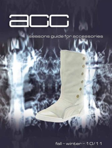 seasons guide for accessories fall •• winter •• 10/11 ... - acc media