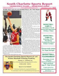 South Charlotte Sports Report
