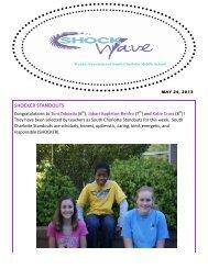 SHOCKER STANDOUTS - Charlotte-Mecklenburg Schools